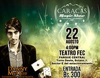 Flyer Caracas Magic Show