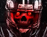 American Football - Skull