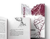 """Diseño editorial de libro """"La última ceniza"""""""