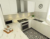 Cocina de apartamento: Beethoven