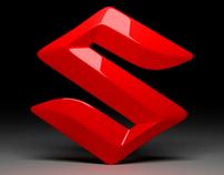 Logo Suzuki 3D