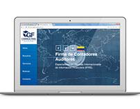 Diseño web CGF CONSULTING Firma de Contadores Auditores