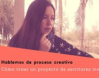 Hablemos de proceso creativo