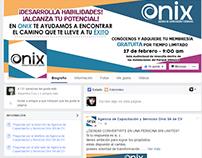Mockup Facebook - ONIX AGENCIA DE CAPACITACION