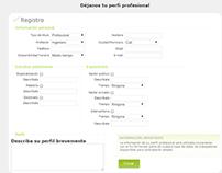 Web App: Database for Esperanza Jurídica