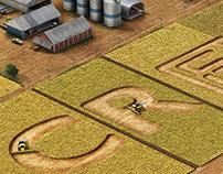 Evolução da colheita