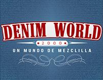 DENIM WORLD. Diseño de imagen corporativa y de marca.