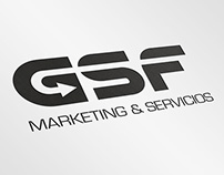 GSF. Logo design for a marketing company.