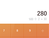 DailyUI #001 - Calculadora
