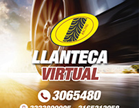 Flyer Llanteca Virtual