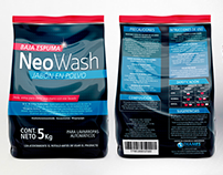 Packaging Neo Wash - Jabón en Polvo 5 Kg, ARG.