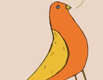 Little sad bird