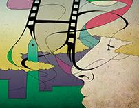 Ilustración para piezas gráficas ¨5ª Semana de Soria¨