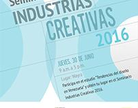 Seminario Industrias Creativas 2016