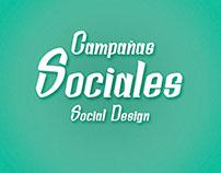 Campañas Sociales/Social Design
