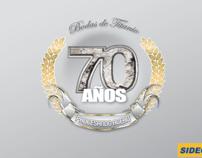 Logo conmemorativo SIDEC