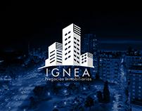 Ignea Negocios Inmobiliarios | Diseño de Isologo