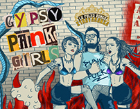 Punk party posters