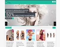 Loja de Comercio de Roupa intima feminina