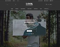Men Store Website Design