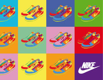 Eight different styles for nike