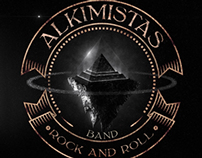 Logo e álbum - banda Alkimistas