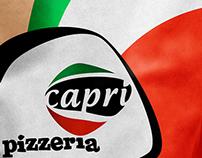 Pizzeria Capri \ branding design by Jaime Claure
