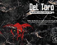 Diseño de stand (tridimensional) : Guillermo del toro