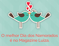 Dia dos Namorados Magazine Luiza