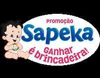 Ação Fraldas Sapeka - Ganhar é Brincadeira