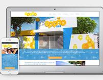 Website Joomla - Escola Opção Kids