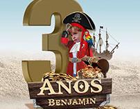 #Benjamin3anos