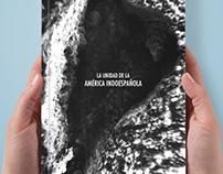 """Tapa de libro """"La unidad de la América Indoespañola"""""""