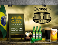 Design / Campanha Copa do Mundo / Grainne's Pub