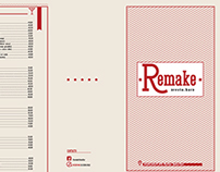 Remake bar Menu
