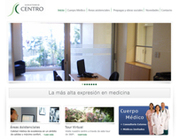 Sanatorio Centro - Web