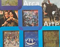 Diseño- Catálogo cena anual Arca&Arte 2015
