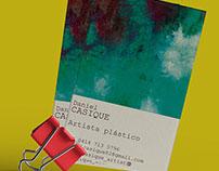 Daniel Casique - Bussiness cards