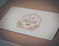 """Diseño de Logotipo para panadería artesanal """"La Maza"""""""