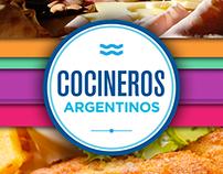 Pack gráfico Cocineros Argentinos 2016