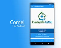 Aplicacion Android Comei