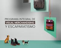 Díptico Visual Merchandising y Escaparatismo