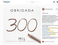 Natura - Post 300k seguidores