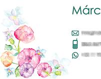 Cartão de Visita | Márcia Leal