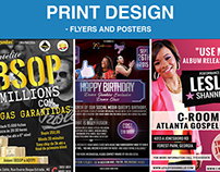 Design de Panfleto e Posters - Flyer and Posters Design