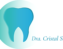 Dra. Cristal Santos Logo by Isbot Graphics