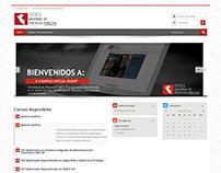 Plataforma Moodle http://enapp.edu.pe/aulavirtual/