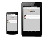 Browser mobile site
