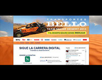 Transportes Bello Team Dakar desert 2013