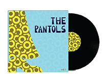 Capa de disco - The Pantols